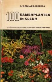 A.C. Muller-Idzerda - 100 kamerplanten in kleur