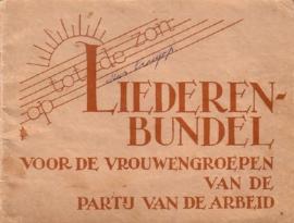 Liederenbundel voor de vrouwengroepen van de Partij van de Arbeid