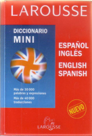 Larousse - Diccionario mini español-inglés/English-Spanish
