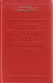Van Dale Groot Woordenboek der Nederlandse Taal A-N + O-Z [2 boeken]