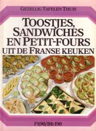 Gezellig Tafelen Thuis - Toostjes, sandwiches en petit-fours uit de Franse keuken