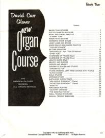 David Carr Glover - New Organ Course Book 1 + Book 2 [orgel] [EN]