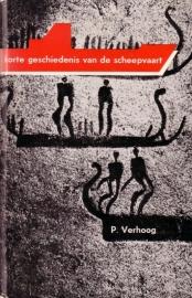 P. Verhoog - Korte geschiedenis van de scheepvaart