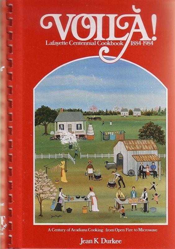 Jean K Durkee - Voila! Lafayette Centennial Cookbook 1884-1984