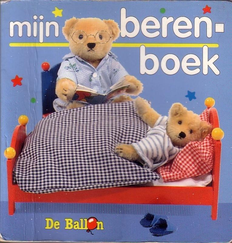 Mijn berenboek [kartonboekje]