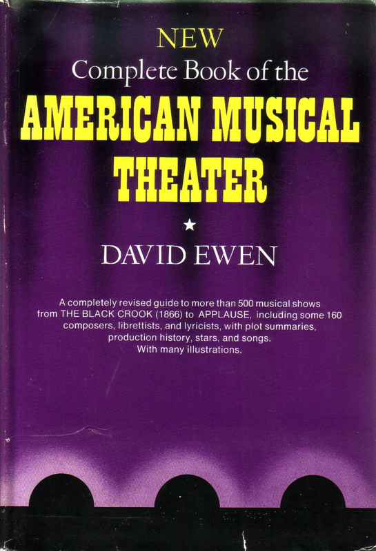 David Ewen - New Complete Book of the American Musical Theater