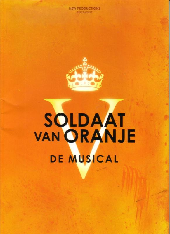 Programmaboek Soldaat van Oranje - De musical