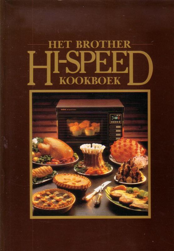 Het 'Brother Hi-Speed' Kookboek