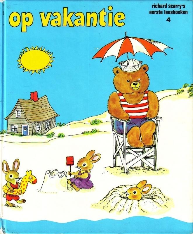 Richard Scarry`s eerste leesboeken - 4. Op vakantie