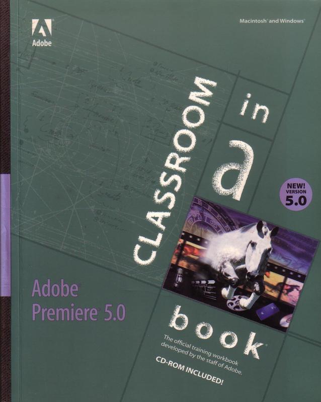 Classroom in a Book - Adobe Premiere version 5.0 [EN]