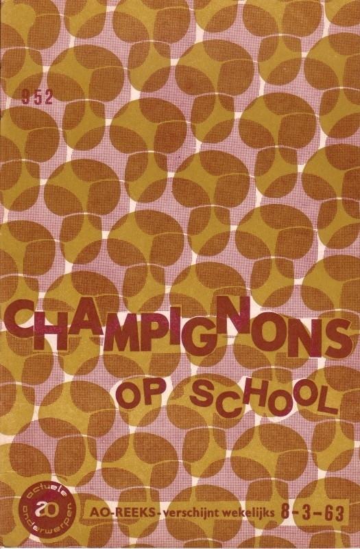 AO-boekje 0952 - Champignons op school
