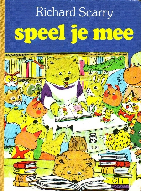Richard Scarry - Speel je mee [kartonboekje]