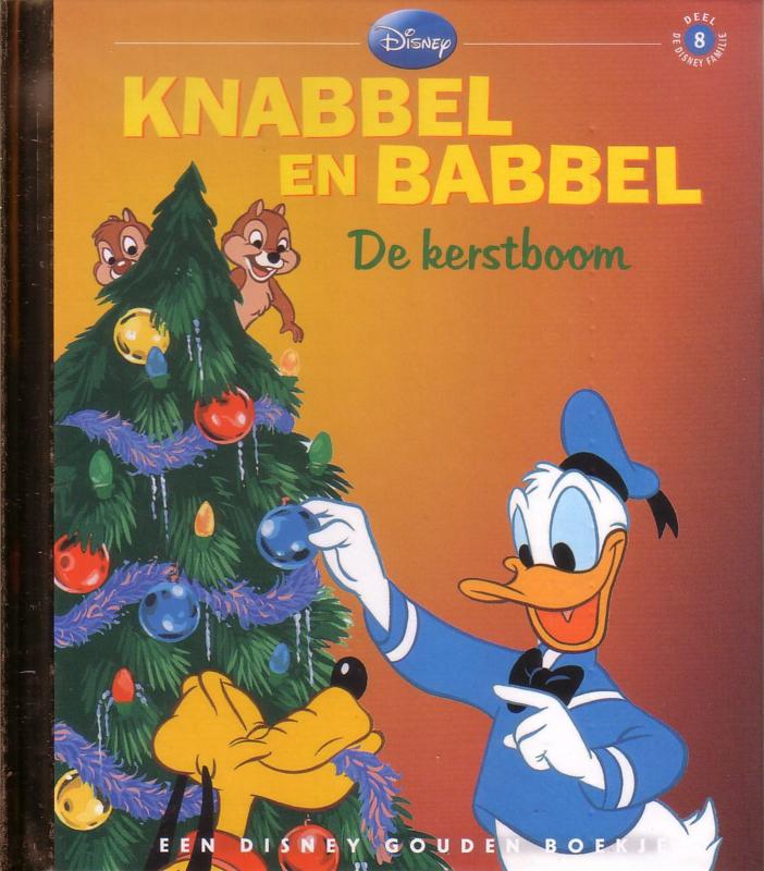 Disney Gouden Boekje: 08. Knabbel en Babbel - De kerstboom