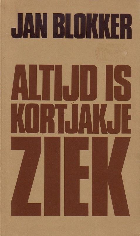Jan Blokker - Altijd is Kortjakje ziek