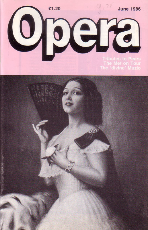 Opera - June 1986