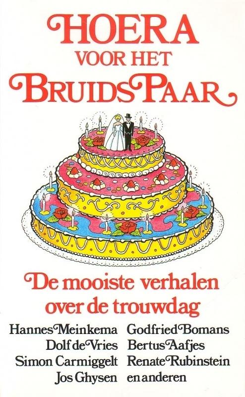 Hoera voor het bruidspaar