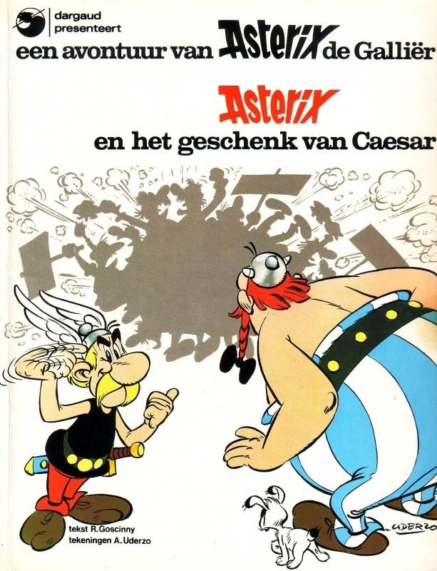 Asterix en het geschenk van Caesar
