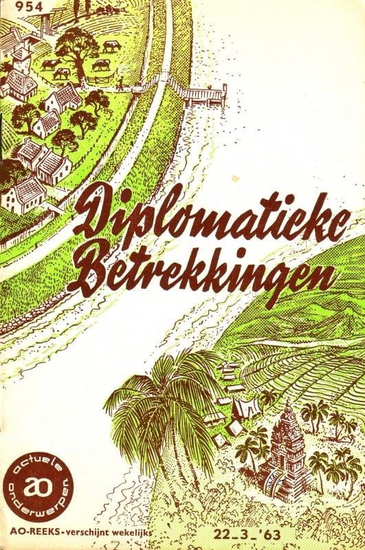 AO-boekje 0954 - Diplomatieke betrekkingen