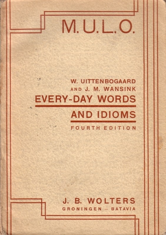 Every-day words and idioms
