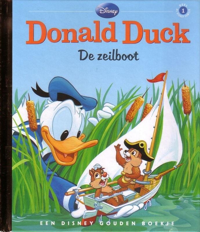 Disney Gouden Boekje: 01. Donald Duck - De zeilboot