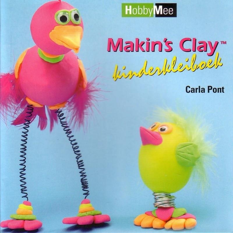 Carla Pont - Making`s Clay kinderkleiboek