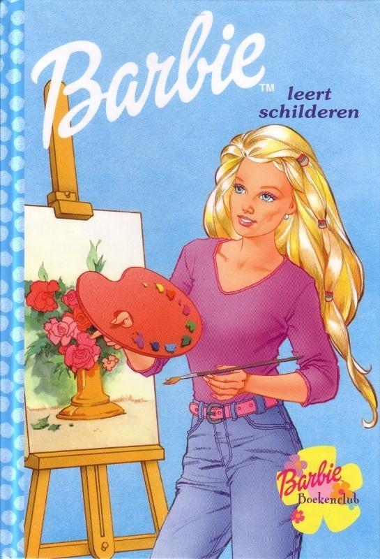 Barbie Boekenclub - Barbie leert schilderen