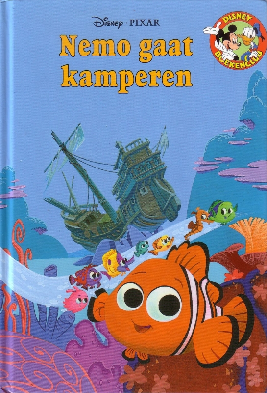 Disney Boekenclub - Nemo gaat kamperen