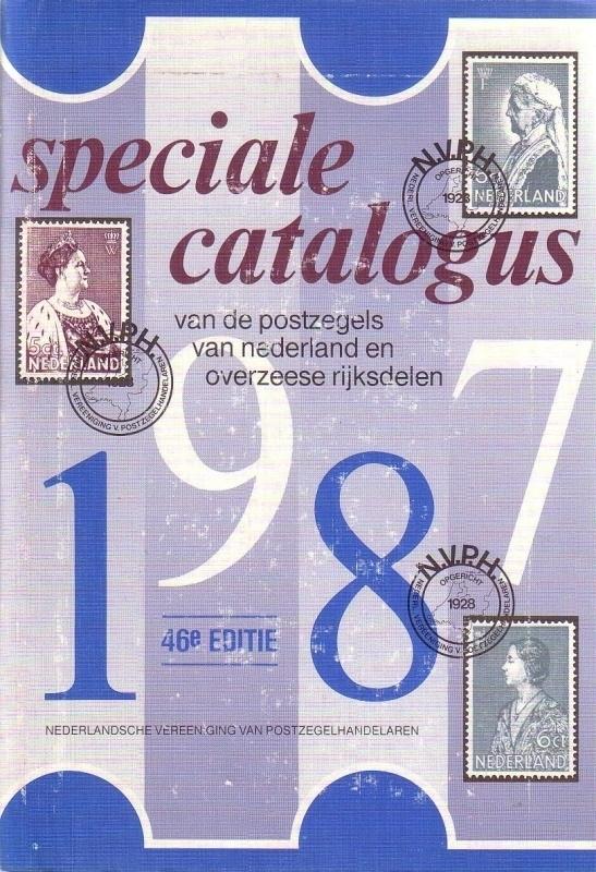 Speciale catalogus van de postzegels van Nederland en Overzeese Rijksdelen 1987