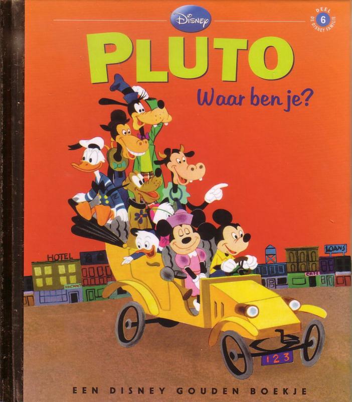 Disney Gouden Boekje: 06. Pluto - Waar ben je?