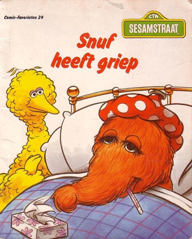 Sesamstraat - Snuf heeft griep