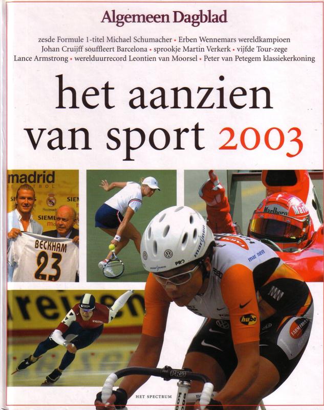 Algemeen Dagblad - Het aanzien van sport 2003
