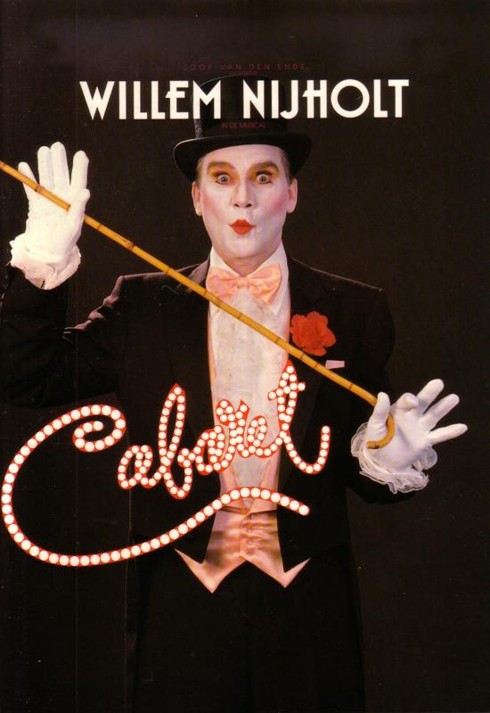 Programmaboek Cabaret - Willem Nijholt in de musical Cabaret