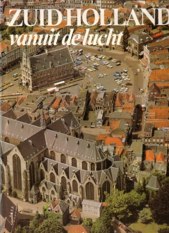 Zuid-Holland vanuit de lucht