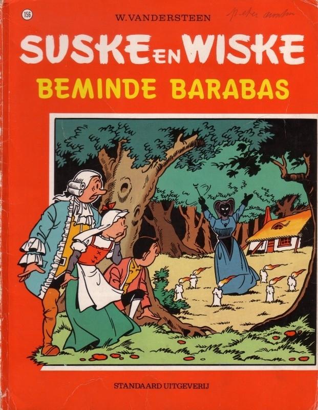 Suske en Wiske - Beminde Barabas [1e druk]