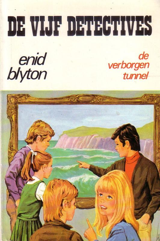 Enid Blyton - De Vijf Detectives: 15. De verborgen tunnel