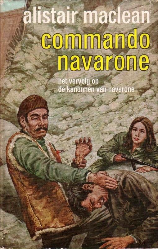 Alistair MacLean - Commando Navarone