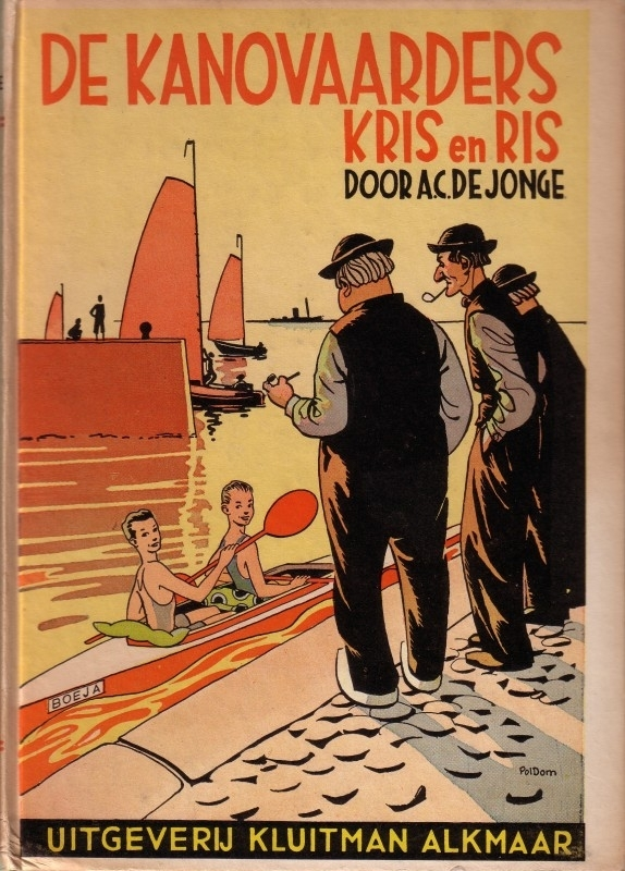 A.C. de Jonge - De kanovaarders Kris en Ris