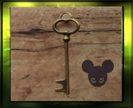 Sleutel 3/ bronze