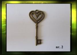 Bronze sleutel nr. 2