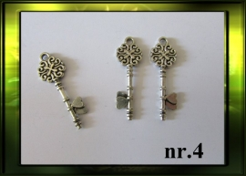 Zilver sleutel nr.4