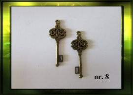 Bronze sleutel nr. 8