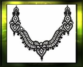 Grand Collar / zwart