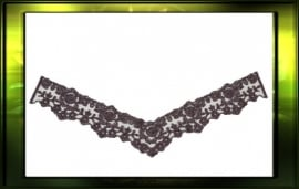 French lace applicatie/ pruim