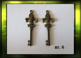 Bronze sleutel nr. 6