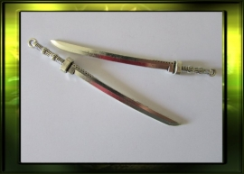 Katana zwaard / oud zilver