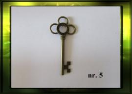 Bronze sleutel nr. 5
