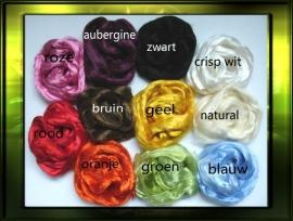 Zijde vezels / 11 kleuren