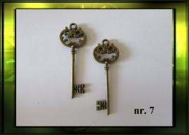 Bronze sleutel nr. 7