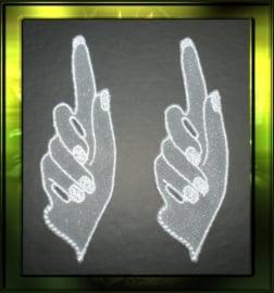 Witte handje