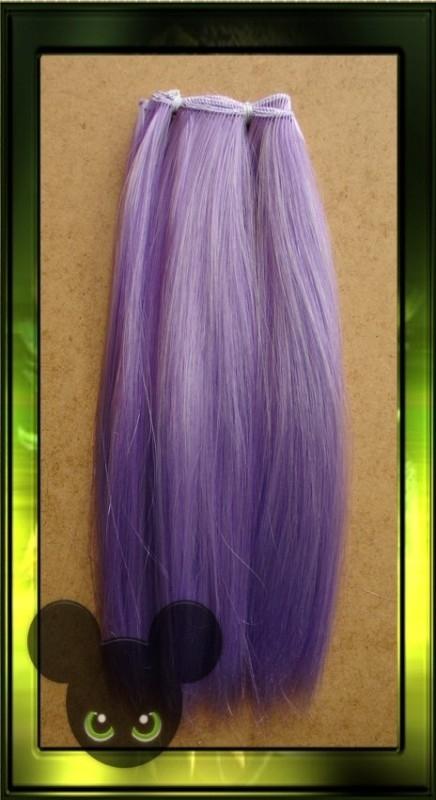 Violet - white mix 1m x 26cm